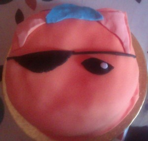 """Cake with Eye Patch"""